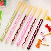 蝴蝶結巧克力棒 造型筆 中性筆 聖誕節 禮物 學生 安親班 獎品 贈品-艾發現