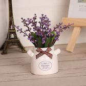 店鋪辦公室展柜裝飾仿真盆栽小擺件綠植假花植物客廳仿真花卉