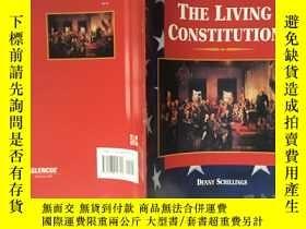 二手書博民逛書店THE罕見LIVING CONSTITUTION 活生生的憲法Y