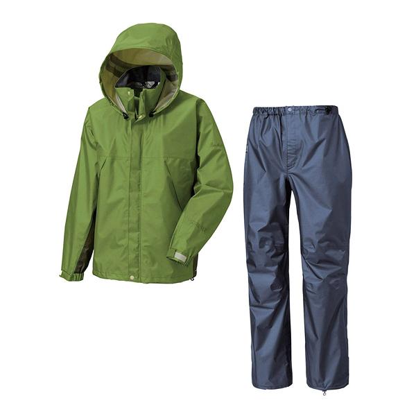 [Puro Monte] (男) GT-3L 登山防水透氣衣+褲 綠/炭灰 (SR133M-G)