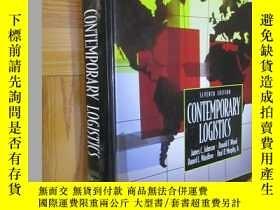 二手書博民逛書店CONTEMPORARY罕見LOGISTICS (seventh edition) 16開,精裝Y5460 J