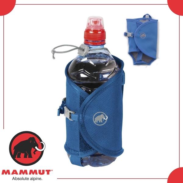 【MAMMUT ADD-ON BOTTLE HOLDER 水壺袋《 黯青》】2530-00100/水壺套/外掛袋/水瓶外掛袋
