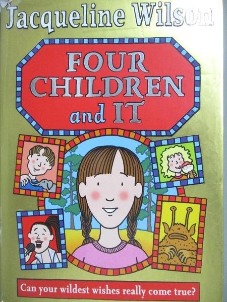 【書寶二手書T2/原文小說_QFR】Four Children and It_Jacqueline Wilson