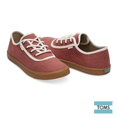 TOMS 素面車邊綁帶帆布休閒鞋-女款-Topanga系列(10012427 SPICE)