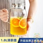 大容量泡茶茶壺家用北歐耐高溫冷水壺玻璃涼水壺瓶【奇妙商鋪】