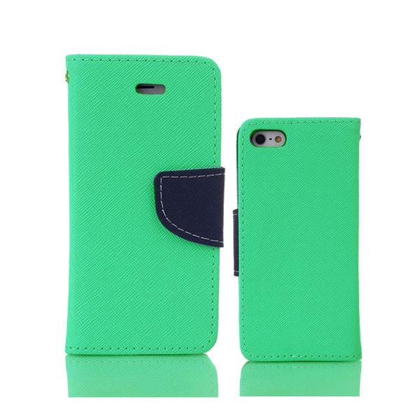 微瑕出清ASUS ZenFone 4 Max ZC554KL 馬卡龍雙色側掀手機皮套 磁吸扣帶 海水綠特賣專區 1 $49
