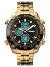 手錶男運動防水潮流韓版時尚款電子錶多功能夜光雙時間青少年腕錶