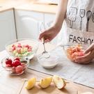 透明玻璃碗沙拉碗家用餐具湯碗創意甜品碗 ...