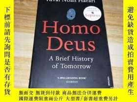 二手書博民逛書店Homo罕見Deus:A Brief History of To