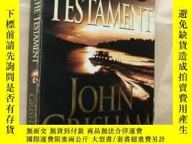 二手書博民逛書店The罕見Testament by John GrishamY1