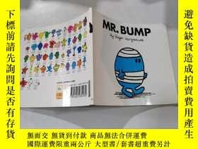 二手書博民逛書店mr.bump:bump先生罕見6Y212829