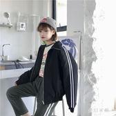 中大尺碼秋季外套原宿學生寬鬆長袖棒球服sd2376『夢幻家居』