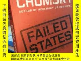 二手書博民逛書店NOAM罕見CHOMSKY FAILED STATESY1844