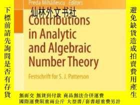 二手書博民逛書店【罕見】 Contributions In Analytic And Algebraic Number Theor