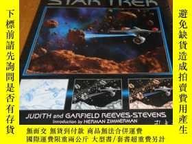 二手書博民逛書店2手英文平裝罕見The Art of Star Trek 星際迷