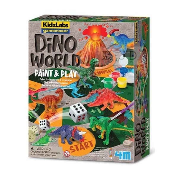 【4M】03400 科學探索-恐龍馬拉松 Dino World