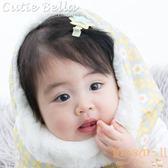 Cutie Bella馬卡龍色系大小雙層星星全包布手工髮夾-Sparkle Twin Star-Sunny/Mint