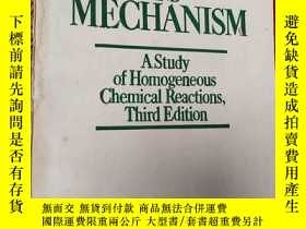 二手書博民逛書店Kinetics罕見and Mechanism Third Ed