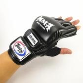 成人專業拳擊手套散打泰拳MMA半指分指UFC搏擊專業沙袋訓練拳套 傑克型男館