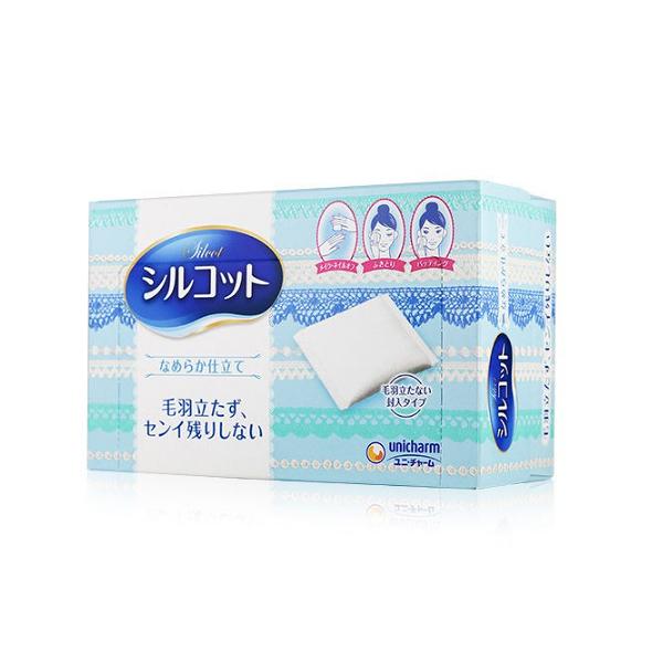日本 Silcot絲花化妝棉 80片