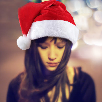 【Miss Sugar】聖誕密絲絨毛帽(高40cmX寬30cm)