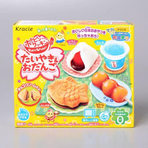 【Kracieg】鯛魚燒&團子知育果子39g(賞味期限:2019.04)