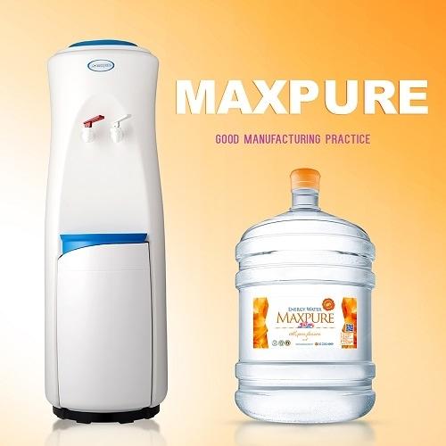 頂好桶裝水 優雅簡約日式機款 落地型溫熱飲水機+頂級限量勁礦能量水