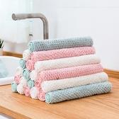 【BlueCat】單色系防燙吸水珊瑚絨抹布 擦手巾