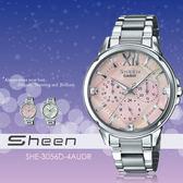 Sheen 個性甜美 37mm/SHE-3056D-4A/晶鑽/珍珠貝/SHE-3056D-4AUDR
