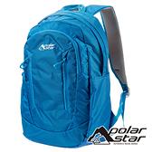 【PolarStar】休閒透氣背包 22L『天藍』P19802 露營.戶外.旅遊.登山背包.後背包.肩背包.手提包.行李包
