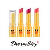 【即期品】韓國 MISSHA 聯名款 LINE Friends 莎莉 唇膏 口紅 唇彩 唇部 彩妝 (4g/支) DreamSky