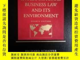 二手書博民逛書店INTERNATIONAL罕見BUSINESS LAW AND