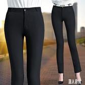 顯瘦職業西裝褲修身小腳直筒褲2020春裝長褲新款休閒褲女長褲百搭 LR21831『麗人雅苑』