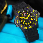 LUMINOX 雷明時 3505.L NAVY SEAL 海豹突擊隊二代腕錶/黃 45mm 熱賣中!