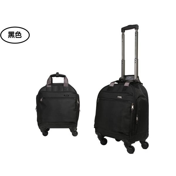 Backbager 背包族【YESON永生】台灣製造 13吋 超輕量旅行輪袋/ 拉桿袋(黑色) 988-13