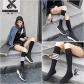 長筒襪女日系及膝襪學生高筒襪潮流小腿襪百搭 黛尼時尚精品