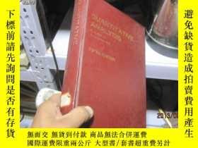 二手書博民逛書店7653罕見精裝的 774 頁 QUANTITATIVE ANA