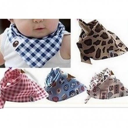寶寶口水巾(兒童三角巾)