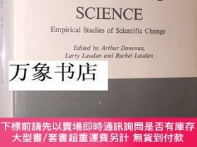 二手書博民逛書店Laudan罕見等主編 Scrutinizing Science, empirical studies of sc