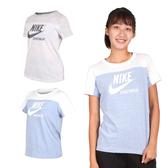 NIKE 女短袖T恤(慢跑 路跑 免運 ≡排汗專家≡
