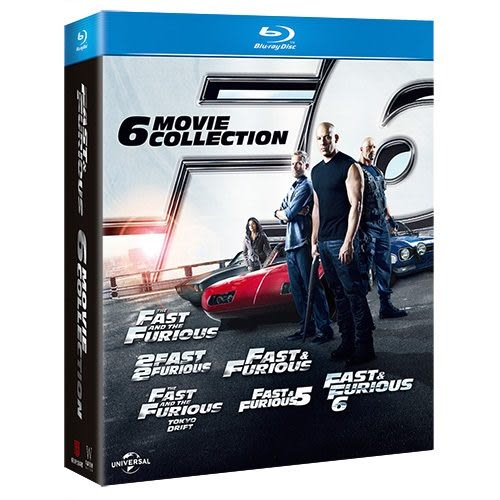 玩命關頭1-6合輯 BD Fast & Furious 6movies collection