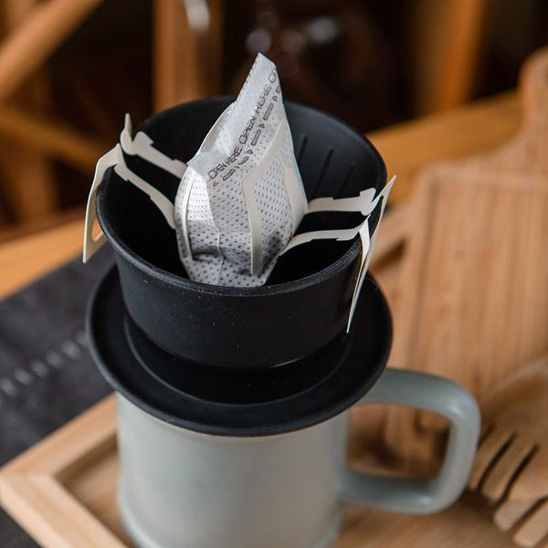 【任3件3折】Gift concept黑帽子咖啡過濾器-生活工場