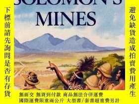 二手書博民逛書店King罕見Solomon s Mines (Ladybird Children s Classics) 英文原版