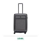 CRWON 皇冠 LOJEL EXOSIII 輕量 軟硬結合 拉鍊箱 行李箱 26吋 旅行箱 兩色 C-F1507