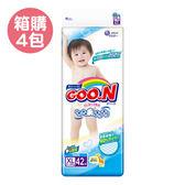 GOO.N 日本大王 頂級境內版紙尿褲XL (42片x4包)【產地日本】【佳兒園婦幼館】