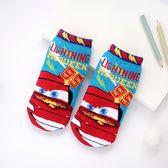 迪士尼系列直版童襪 閃電麥坤 襪子 短筒襪