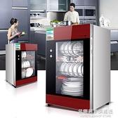 消毒櫃家用立式迷你單門高溫不銹鋼商用櫃式大容量消毒碗櫃 220vNMS名購居家