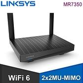 【南紡購物中心】Linksys 雙頻 AX1800 MAX-STREAM Mesh WiFi 6 路由器 分享器 (MR7350)