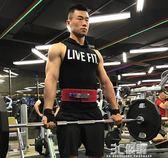 健身手套 硬拉助力帶健身手套男引體向上握力帶運動護腕單杠女護掌牛皮訓練 3C優購