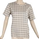 BURBERRY經典格紋全套短袖女居家服(淺駝色)085551/085552